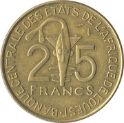 25 francs (FAO) – revers