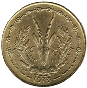 25 francs -  revers