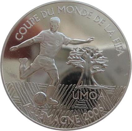 1000 francs coupe du monde de football allemagne 2006 tats de l 39 afrique de l 39 ouest bceao - Coupe du monde de football 2006 ...