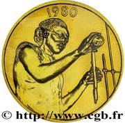25 francs (FAO ; Essai) – revers