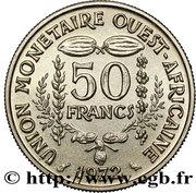 50 francs (non magnétique ; Essai) – revers