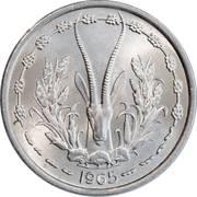 1 franc -  avers