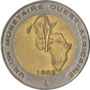 250 francs – revers