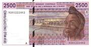 2500 Francs – avers