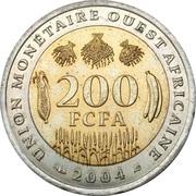 200 francs -  revers