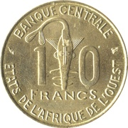 10 francs (FAO) -  revers