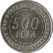 500 francs – revers