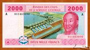 2,000 Francs – avers