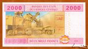 2,000 Francs – revers