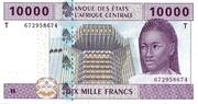 10.000 Francs – avers