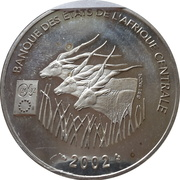 1000 Francs CFA – avers
