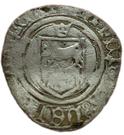 Blanc Catherine de Navarre (1483-1484) – avers
