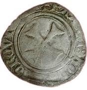 Blanc Catherine de Navarre (1483-1484) – revers