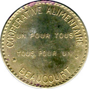 20 Centimes Coopérative Alimentaire - Beaucourt [90] – avers