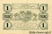 1 Franc - Chambre de Commerce de Beauvais et de l'Oise [60] – revers