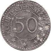 50 pfennig - Beckum – revers