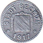 10 pfennig - Beckum – avers