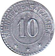 10 pfennig - Beckum – revers