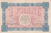 1 franc - Chambre de Commerce de Belfort [90] – revers