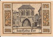 75 Pfennig (Belgard ) – revers