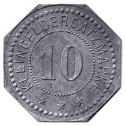 10 pfennig - Belgern – revers