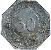 50 pfennig - Belgern – revers