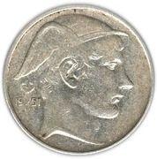 20 francs - Prince Charles - type Mercure (en néerlandais) -  avers