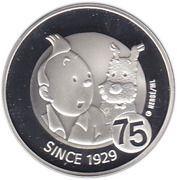 10 euros Tintin -  revers
