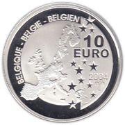 10 euros Tintin -  avers