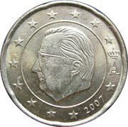 20 cents d'euro Albert II (2e carte, 1er type, 1ere effigie) -  avers