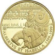 5000  francs Or - Albert II – avers