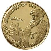 5000 francs - Albert II (Charles Quint) – avers
