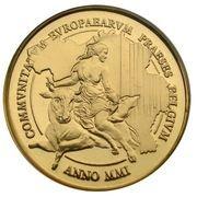 5000 francs - Présidence belge à l'Union Européenne – avers