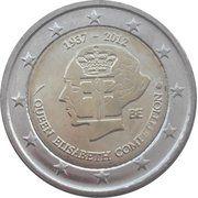 2 euros Concours Reine Elisabeth -  avers