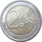 2 euros Concours Reine Elisabeth -  revers