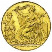 Module de 40 francs 25e Anniversaire de l'inauguration du Roi Léopold Ier – avers
