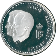 250 francs (Fondation Roi Baudouin) – avers