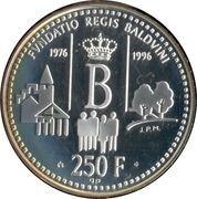 250 francs (Fondation Roi Baudouin) – revers