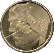 5 francs - Baudouin Ier (en néerlandais) -  avers
