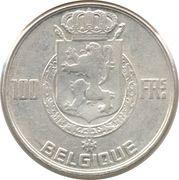 100 francs - Prince Charles - type dynastie (en français) – revers