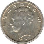 50 francs - Léopold III (Belgique-Belgie) – avers