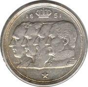 100 francs - Prince Charles - type dynastie (en néerlandais) – avers