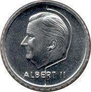 50 francs - Albert II (en néerlandais) – avers