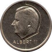 20 francs - Albert II (en néerlandais) -  avers