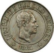 20 centimes - Léopold Ier (cupronickel) -  avers