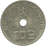 10 centimes - Léopold III (Belgie-Belgique) -  revers
