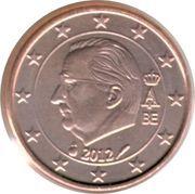 1 cent d'euro Albert II (2e type, 1ère effigie) -  avers