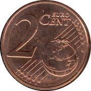 2 cents d'euro Albert II (1er type, 1ère effigie) -  revers
