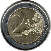 2 euros Albert II (2e carte, 2e type, 1ère effigie) -  revers