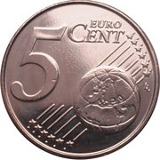 5 cents d'euro Philippe -  revers